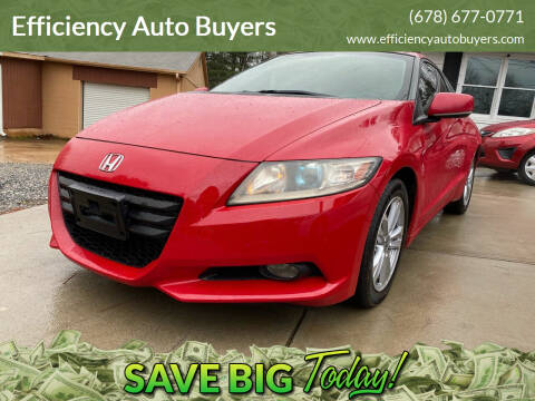 2011 Honda CR-Z for sale at Efficiency Auto Buyers in Milton GA