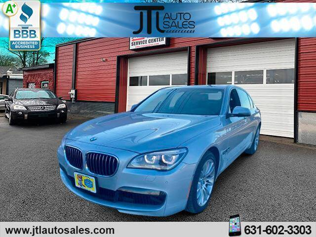 2013 BMW 7 Series for sale at JTL Auto Inc in Selden NY