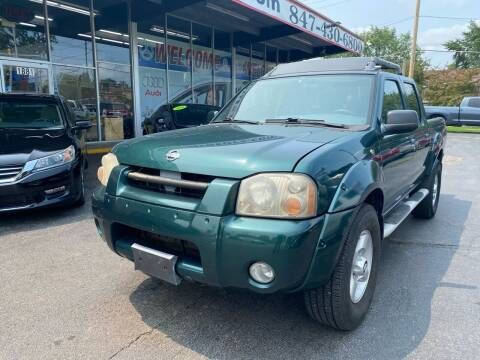 2001 Nissan Frontier for sale at TOP YIN MOTORS in Mount Prospect IL