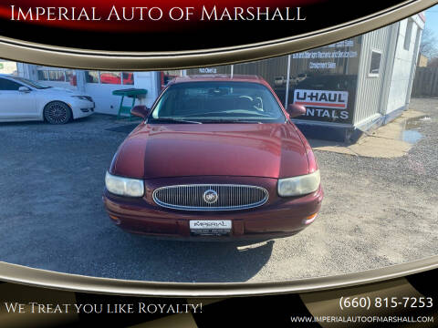 2002 Buick LeSabre for sale at Imperial Auto of Marshall in Marshall MO