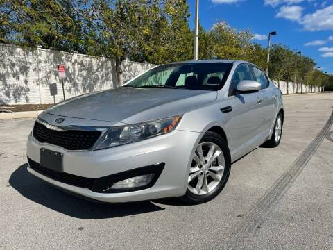 2012 Kia Optima for sale at Goval Auto Sales in Pompano Beach FL