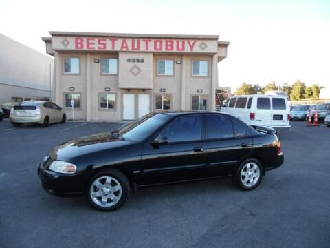 2006 Nissan Sentra for sale at Best Auto Buy in Las Vegas NV