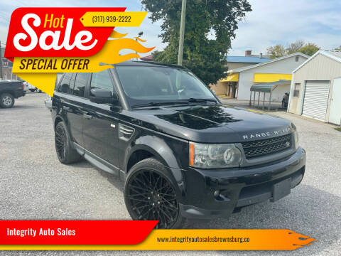 2011 Land Rover Range Rover Sport for sale at Integrity Auto Sales in Brownsburg IN