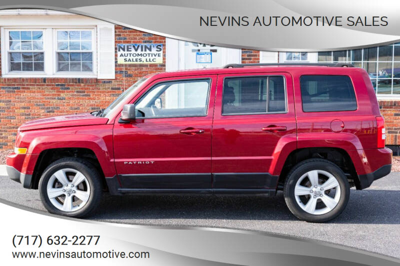 2013 Jeep Patriot for sale at Nevins Automotive Sales in Hanover PA