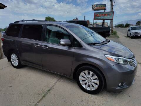 2015 Toyota Sienna for sale at Sunset Auto Body in Sunset UT