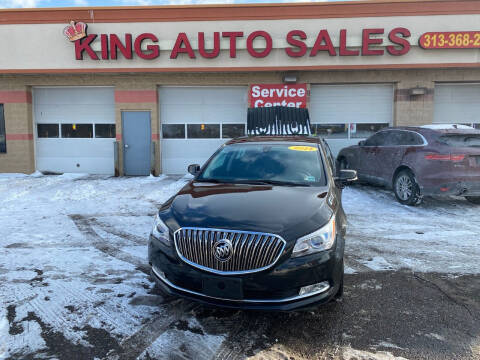 2014 Buick LaCrosse for sale at KING AUTO SALES  II in Detroit MI