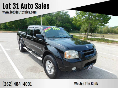 2002 Nissan Frontier for sale at Lot 31 Auto Sales in Kenosha WI
