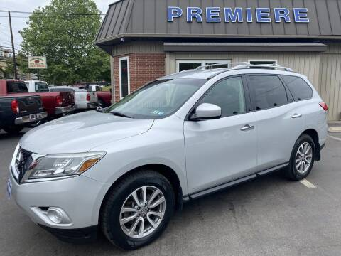 2013 Nissan Pathfinder for sale at Premiere Auto Sales in Washington PA