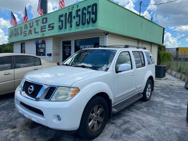 2008 Nissan Pathfinder for sale at Jack's Auto Sales in Port Richey FL