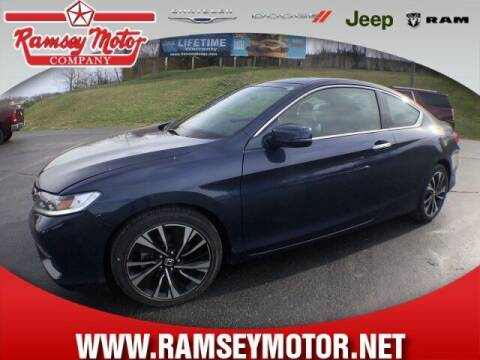 2017 Honda Accord for sale at RAMSEY MOTOR CO in Harrison AR