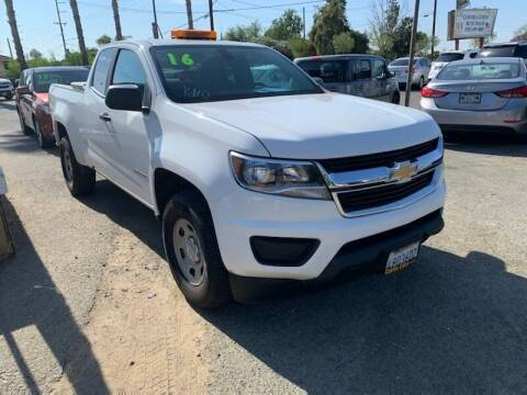 2016 Chevrolet Colorado for sale at Contra Costa Auto Sales in Oakley CA