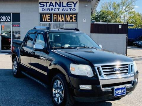 2008 Ford Explorer Sport Trac for sale at Stanley Automotive Finance Enterprise - STANLEY DIRECT AUTO in Mesquite TX