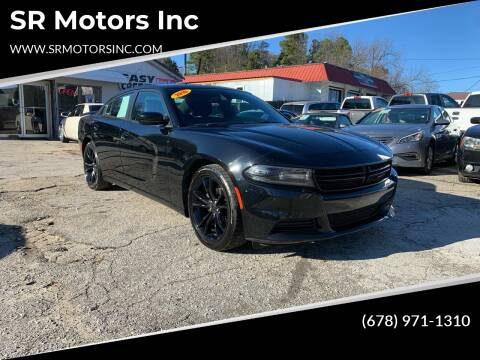 2016 Dodge Charger for sale at SR Motors Inc in Gainesville GA
