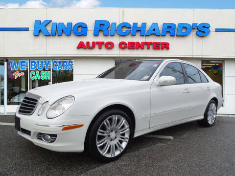 2008 Mercedes-Benz E-Class for sale at KING RICHARDS AUTO CENTER in East Providence RI