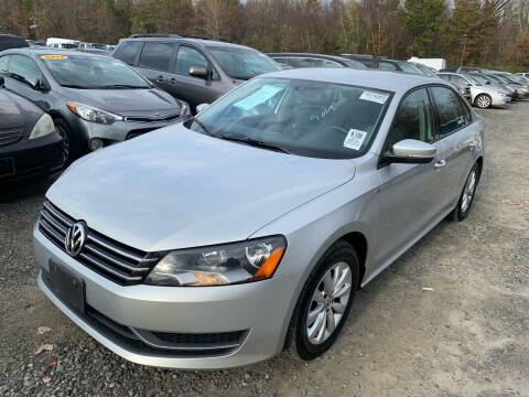 2014 Volkswagen Passat for sale at MFT Auction in Lodi NJ