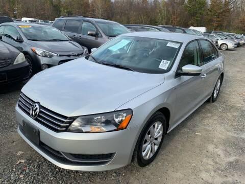 2014 Volkswagen Passat for sale at MFT Auction in Lodi NJ