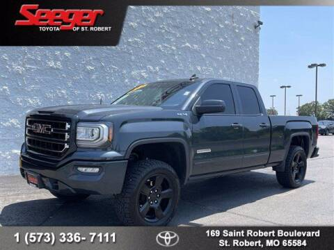 2018 GMC Sierra 1500 for sale at SEEGER TOYOTA OF ST ROBERT in St Robert MO