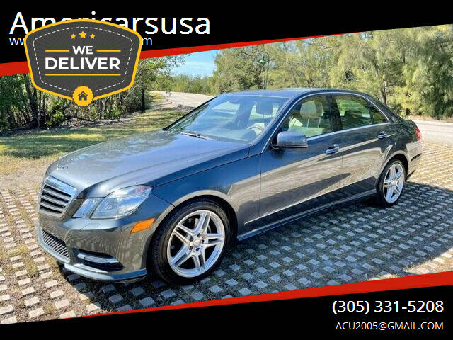 2013 Mercedes-Benz E-Class for sale at Americarsusa in Hollywood FL