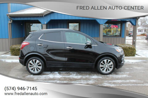 2017 Buick Encore for sale at Fred Allen Auto Center in Winamac IN