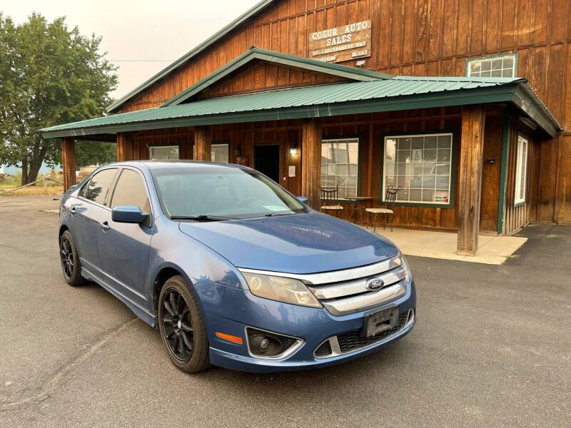 2010 Ford Fusion for sale at Coeur Auto Sales in Hayden ID