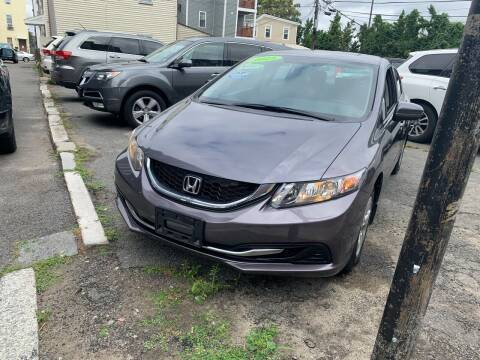 2015 Honda Civic for sale at Rockland Center Enterprises in Roxbury MA