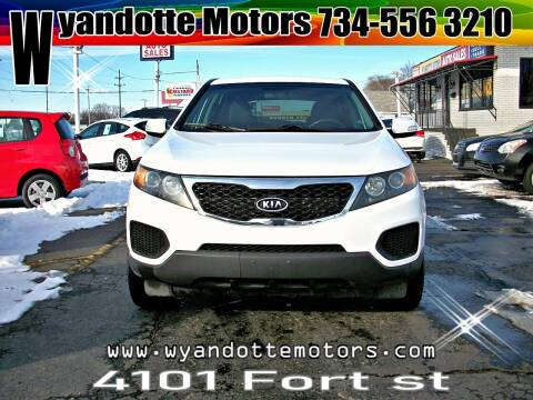 2011 Kia Sorento for sale at Wyandotte Motors in Wyandotte MI