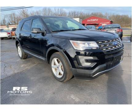 2017 Ford Explorer for sale at RS Motors in Falconer NY