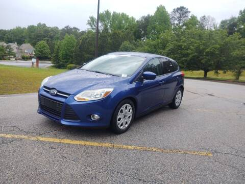 2012 Ford Focus for sale at WIGGLES AUTO SALES INC in Mableton GA