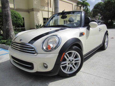 2013 MINI Convertible for sale at FLORIDACARSTOGO in West Palm Beach FL