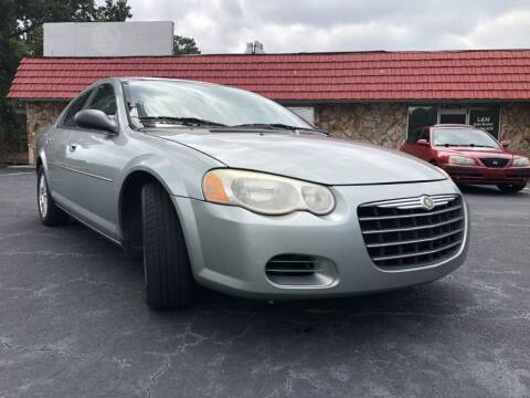 2005 Chrysler Sebring for sale at L & M Auto Broker in Stone Mountain GA