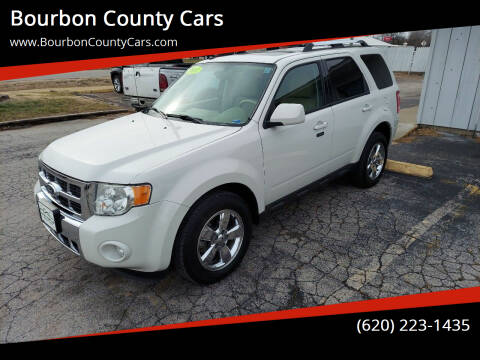 2011 Ford Escape for sale at Bourbon County Cars in Fort Scott KS