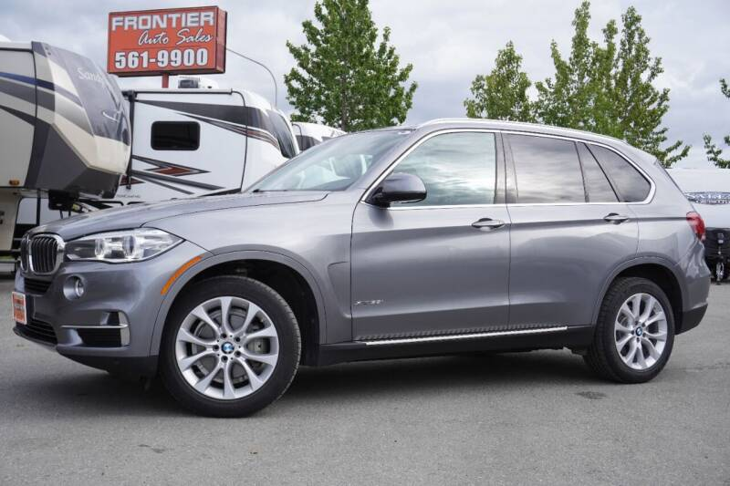 2015 BMW X5 for sale at Frontier Auto & RV Sales in Anchorage AK