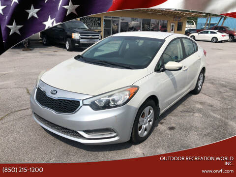 2015 Kia Forte for sale at Outdoor Recreation World Inc. in Panama City FL