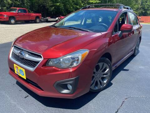 2012 Subaru Impreza for sale at Granite Auto Sales in Spofford NH