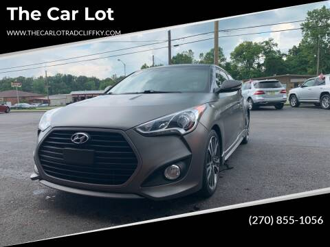 2016 Hyundai Veloster for sale at The Car Lot in Radcliff KY