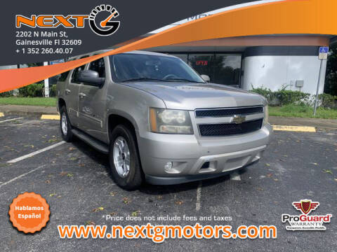 2009 Chevrolet Tahoe for sale at Next G Motors in Gainesville FL