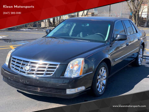 2008 Cadillac DTS for sale at Klean Motorsports in Skokie IL