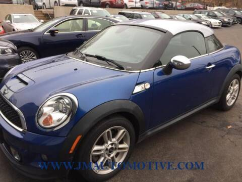 2012 MINI Cooper Coupe for sale at J & M Automotive in Naugatuck CT