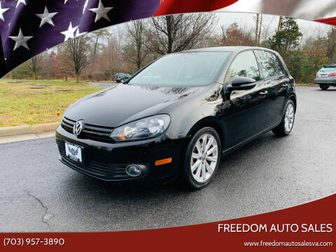 2012 Volkswagen Golf for sale at Freedom Auto Sales in Chantilly VA