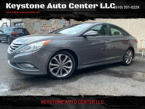 2014 Hyundai Sonata for sale at Keystone Auto Center LLC in Allentown PA