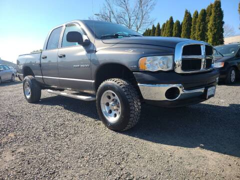 2004 Dodge Ram Pickup 2500 for sale at Universal Auto Sales in Salem OR
