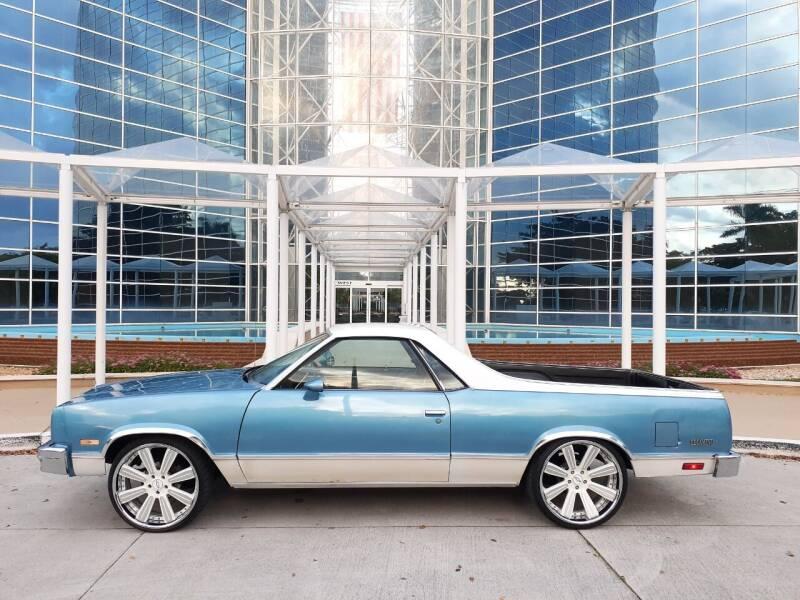 1984 Chevrolet El Camino for sale in Hollywood, FL