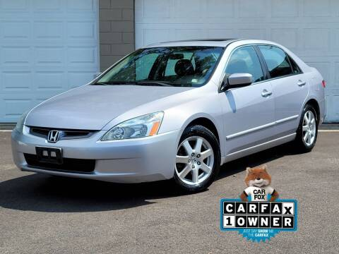 2005 Honda Accord for sale at Riverfront Auto Sales in Middletown OH