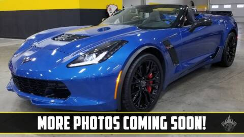 2015 Chevrolet Corvette for sale at UNIQUE SPECIALTY & CLASSICS in Mankato MN