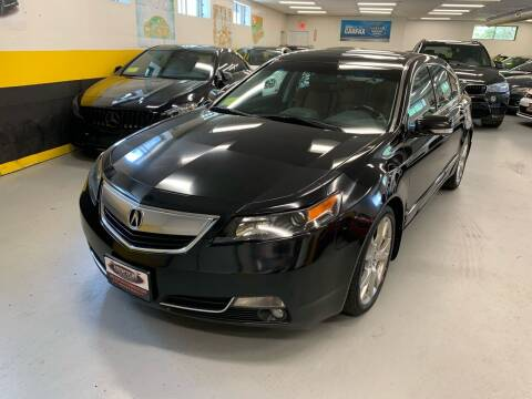 2014 Acura TL for sale at Newton Automotive and Sales in Newton MA