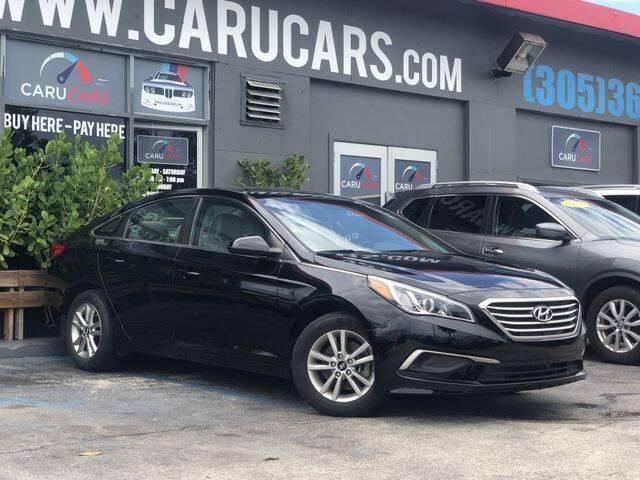 2017 Hyundai Sonata for sale at CARUCARS LLC in Miami FL