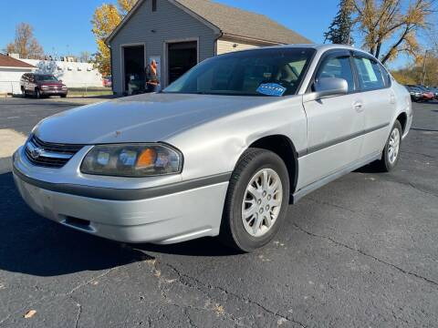 2001 Chevrolet Impala for sale at MARK CRIST MOTORSPORTS in Angola IN