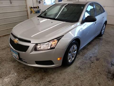 2013 Chevrolet Cruze for sale at Jem Auto Sales in Anoka MN