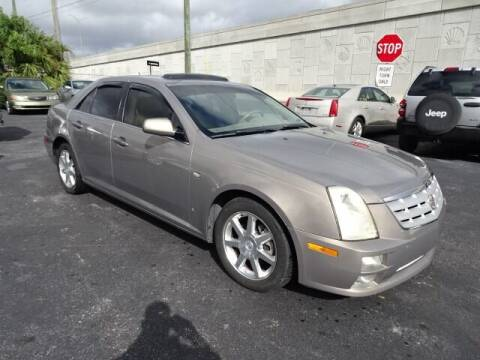 2006 Cadillac STS for sale at DONNY MILLS AUTO SALES in Largo FL