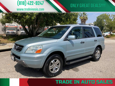 2003 Honda Pilot for sale at Trade In Auto Sales in Van Nuys CA